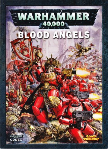 Warhammer 40,000 - Blood Angels 5th Edition Codex