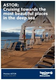 Download itineraries summer 2014 - TransOcean