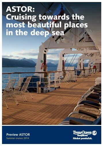 Download itineraries summer 2014 - TransOcean