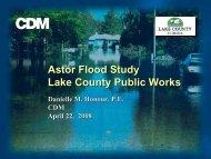 CDM Presentation to Lake County BCC on April 28, 2008