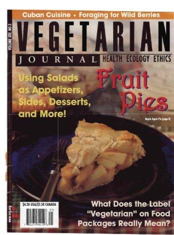 Vegetarian Journal (.pdf) - Cynthia King Dance Studio