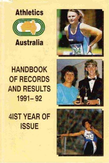 1971 - Athletics Australia