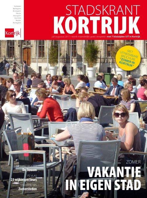 Stadskrant juli-augustus 2011 - Stad Kortrijk