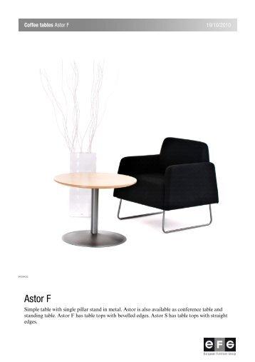 Astor F - EFG - European Furniture Group