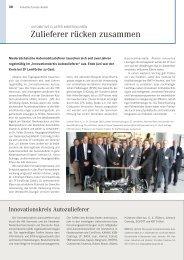 Niedersächsische Wirtschaft 09/2011 - Bericht der letzten ... - ADK