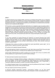 Ordenança Municipal reguladora de la protecció i tinença d'animals