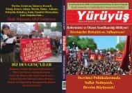 Halk Düşmanı AKP Saldırıyor BİZ DEV-GENÇ'LİLER - Yürüyüş
