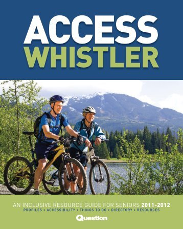 AN INCLUSIVE RESOURCE GUIDE FOR ... - Whistler Question