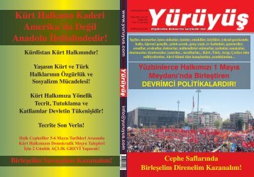 Kürt Halkının Kaderi Amerika'da Değil Anadolu İhtilalindedir! - Yürüyüş