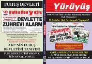 AKP'NİN FUHUŞ DEVLETİNİ - Yürüyüş