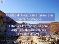Preparativos para entrar a la tierra prometida - Iglesia Biblica ...