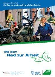 Ihr Weg zum fahrradfreundlichen Betrieb - ADFC Landesverband ...