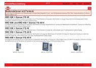 WID 300 + Sensor FS 40 WID 400 und WID 450 + Sensor FS 40 H ...