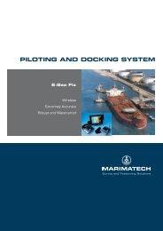 PILOTING AND DOCKING SYSTEM
