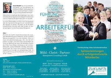 Flyer Führungskräfteseminar - Mühl-Christ-Dragesser-Wendt ...