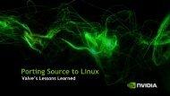 Porting Source to Linux [pdf] - NVIDIA Developer Zone