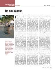 De nou a casa - Revista Sió