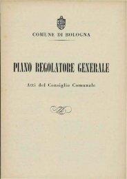 PIANO REGOLATORE GENERALE - Comune di Bologna