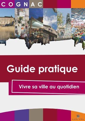 Guide pratique - Ville de Cognac