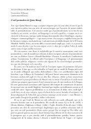 L'estil postmodern de Quim Monzó - Departament de Filologia ...