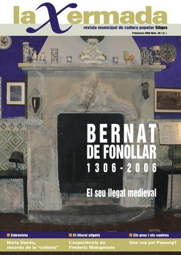 xermada 38.indd - Ajuntament de Sitges