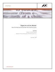 Digital Ink and the eReader - Marvell