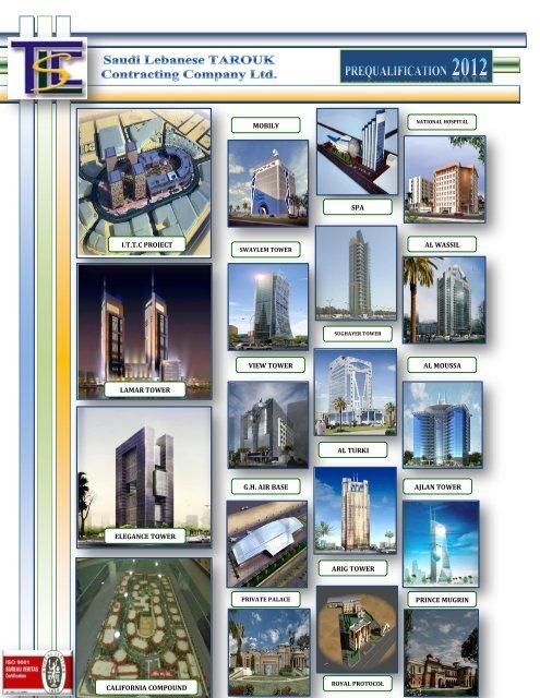 COMPANY PROFILE - Saudi Lebanese Tarouk Contracting Co  LTD