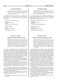 RESOLUCIÓ de 21 de gener de 2000, de - Conselleria de Cultura i ...