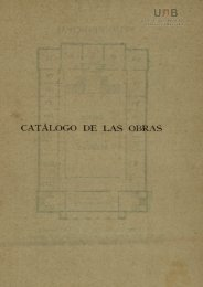 CATÁLOGO DE LAS OBRAS