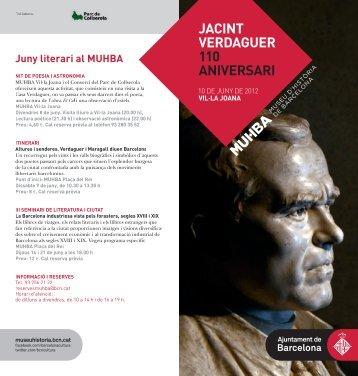 Jacint Verdaguer.110 aniversari