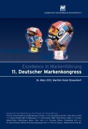 11. Deutscher Markenkongress - Marketing-Club Potsdam e.V.