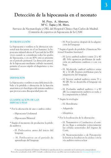 00 Indice.qxd - Asociación Española de Pediatría