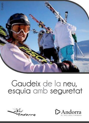 Catàleg de seguretat (pdf) - Ski Andorra