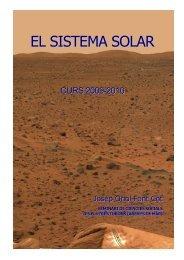 EL SISTEMA SOLAR - Institut els Tres Turons