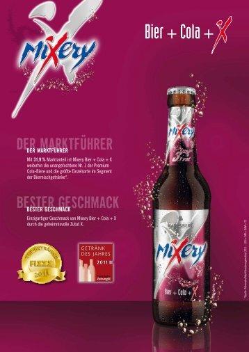 Mixery Cola - Produktblatt