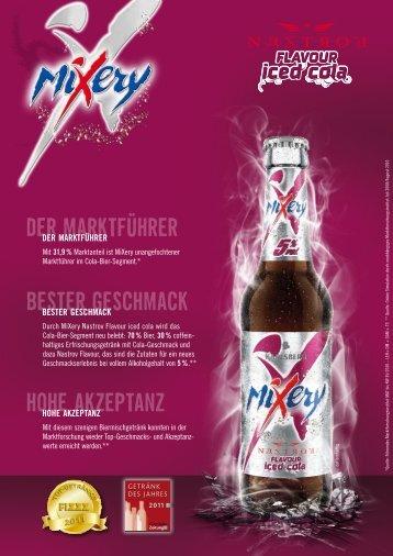 Mixery Iced Cola - Produktblatt
