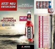 können Sie den Beck's Summer Holunder Salesfolder downloaden.