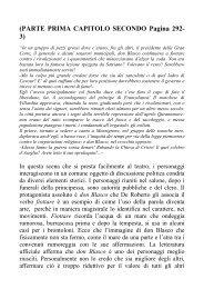 (PARTE PRIMA CAPITOLO SECONDO Pagina 292 ... - alphonse doria