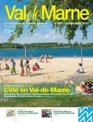 ValdeMarne n°281 / Juillet-Août 2011 - Conseil général du Val-de ...