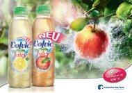 können Sie den Volvic Fresh & Juicy Apfel und Zitrone 0,5 l PET ...