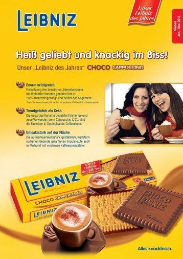 können Sie den Leibniz des Jahres Choco Cappuccino Salesfolder ...