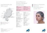 Plastisch-chirurgische Operation - Kostenübernahme ... - MDK-Hessen