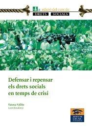 Defensar i repensar els drets socials en temps de crisi - Observatori ...