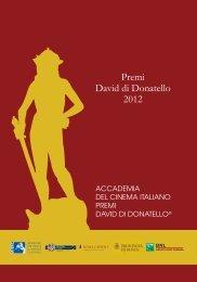 scarica catalogo in formato pdf - David di Donatello