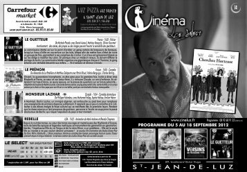 S T - J E A N - D E - L U Z - cinéma Le Select