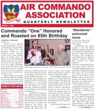 "Commando ""One"" Honored and Roasted on 85th Birthday - The Air ..."