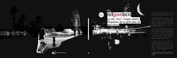 La nit, l'oci i l'espai públic. Propostes de la gent jove de Barcelona