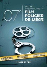 programme 2013 - Festival International du film policier de Liège