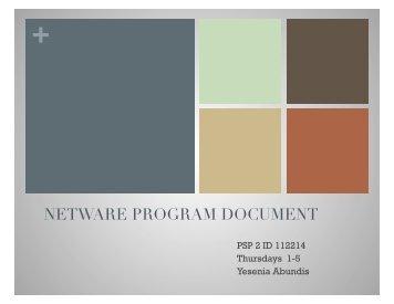 Yesenia Abundis NetWare PD.pptx