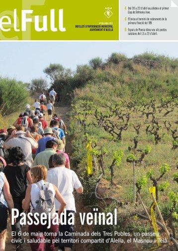 El Full 283 Abril 2012 - Ajuntament d'Alella